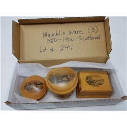 MAUCHLINE WAVE 1880-90 (3 PIECES)