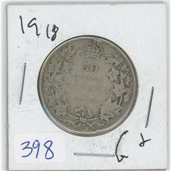 1918 50 CENTS (CANADA)