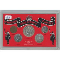 CANADIAN WWII COIN SET (GEORGE VI)