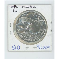 1996 MCINTOSH CANDIAN SILVER DOLLAR