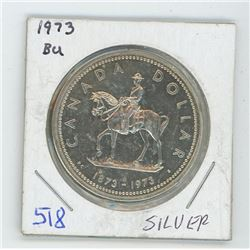 1973 RCMP CANADIAN SILVER DOLLAR