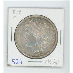 1878S MORGAN USA DOLLAR