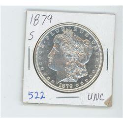 1879S MORGAN USA DOLLAR