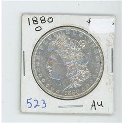 1880O MORGAN USA DOLLAR
