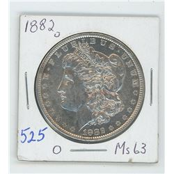 1882O MORGAN USA DOLLAR
