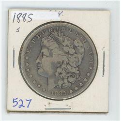 1885S MORGAN USA DOLLAR