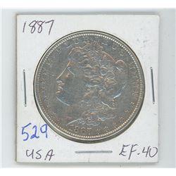 1887 MORGAN USA DOLLAR