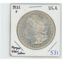 1921P MORGAN USA DOLLAR