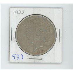 1923 PEACE DOLLAR USA