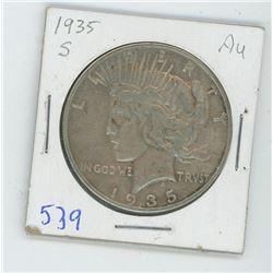 1935S PEACE DOLLAR USA
