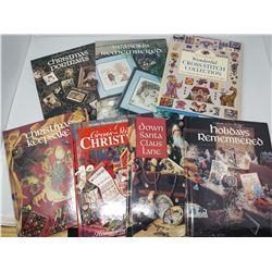 HARDCOVER VINTAGE CROSS STITCH BOOKS