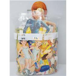 LARGE LOT OF VINTAGE PAPER DOLLS