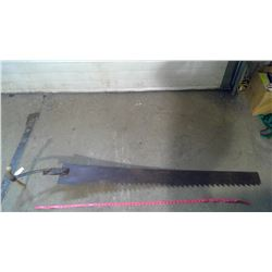"""ICE SAW WITH 60"""" BLADE (REPLACED HANDLE)"""