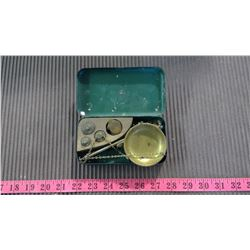 ORIGINAL GOLD SCALE - MISSING 1 WEIGHT