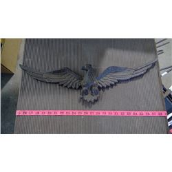 """CAST IRON TYPE EAGLE - 24"""" WING SPAN"""
