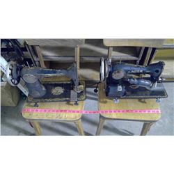 TWO SINGER SEWING MACHINES