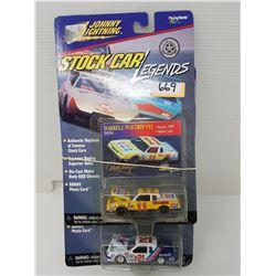 TWO JOHNNY LIGHTNING STOCK CAR LEGENDS