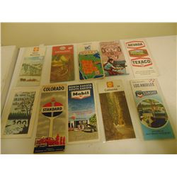 10 OLD GAS STAION HIGHWAY MAPS