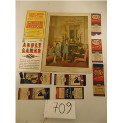 VINTAGE IMPERIAL OIL COLLECTIBLES (ROYAL PHOTO BY IMPERIAL OIL ALSO)
