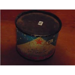 ONE POUND NORTH STAR OIL AXLE LUBRICANT TIN