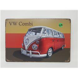 """VW COMBI TIN SIGN (REPRODUCTION) *12"""" X 8""""*"""