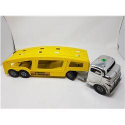 STRUCTO CHROME CAB CAR HAULER