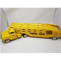 TONKA CAR HAULER (1960'S)
