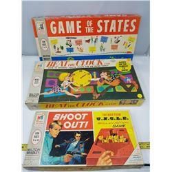 THREE OLD BOARD GAMES