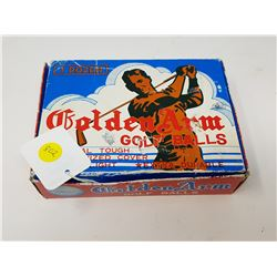 1950'S GOLF BALLS IN DISPLAY PACKAGE