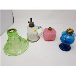 LOT OF 4 LAMP BASES