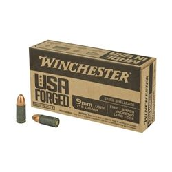 WIN 9MM 115GR FMJ BRASS JLC 500 Rds