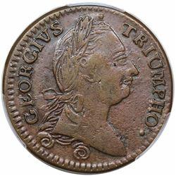 1783 Georgius Triumpho Token, Baker 7, GW-54, PCGS AU53.