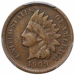 1909-S Indian Cent, PCGS VF20.