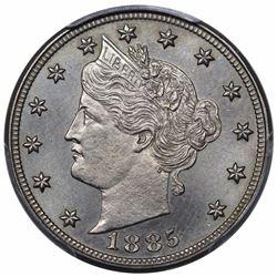 1885 Liberty Nickel, PCGS PR66.