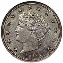 1903 Liberty Nickel, PCI PR62.