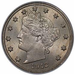 1912-D Liberty Nickel, PCGS MS64+ CAC.