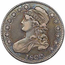 1832 Capped Bust Half Dollar, O-113, R2, VF30.