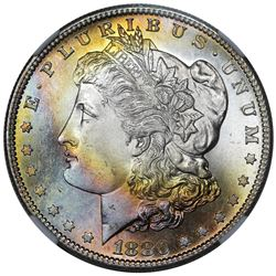 1880-S Morgan Dollar, NGC MS66 CAC.