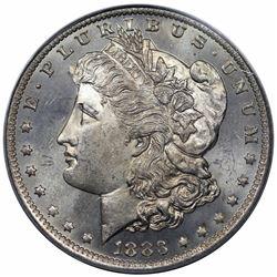 1883-O Morgan Dollar, PCGS MS63PL.