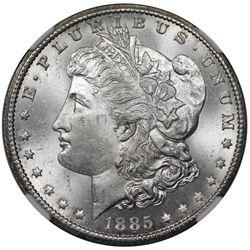 1885-CC Morgan Dollar, NGC MS63
