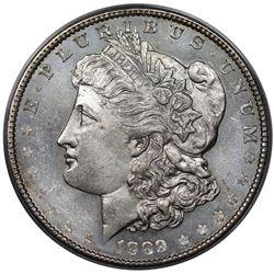 1889 Morgan Dollar, ANACS MS63PL.