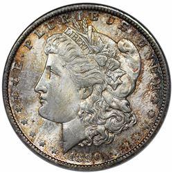 1890-O Morgan Dollar, NGC (OH) MS63.