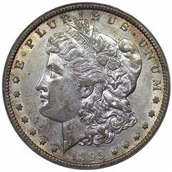 1895-O Morgan Dollar, PCGS AU55 CAC.