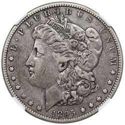 1895-O Morgan Dollar, NGC VF30.