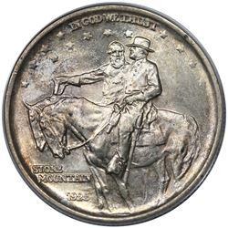 1925 Stone Mountain Commemorative Half Dollar, ANACS MS65.