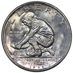 1925-S California Commemorative Half Dollar, PCGS MS66.