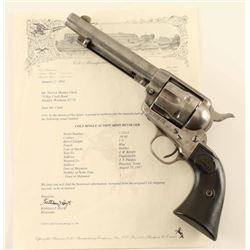 Colt Single Action Army .38 WCF SN: 172314