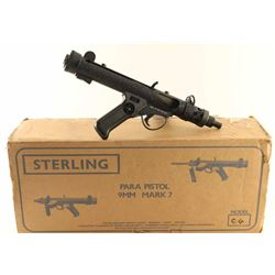 Sterling Mk 7 9mm SN: 7AA0153