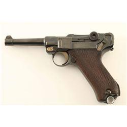 Erfurt P.08 Luger 9mm SN: 4966