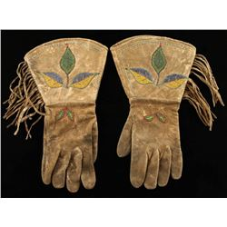Old West Beaded Gauntlets